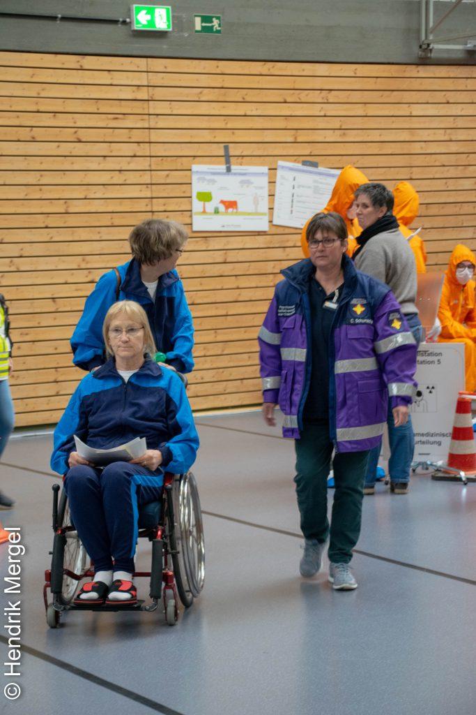 CBRN Übung Notfallstation Wiesloch PSNV
